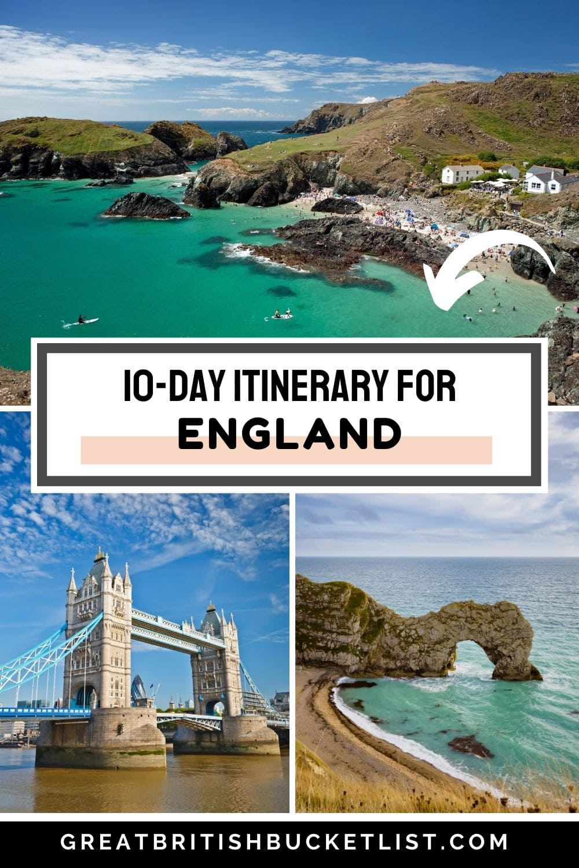 10 Day England Itinerary