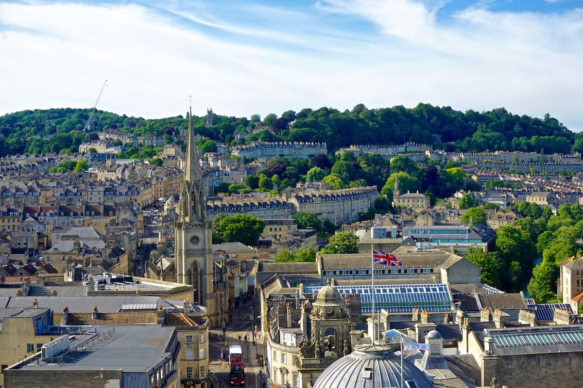 View from Bath Abbey