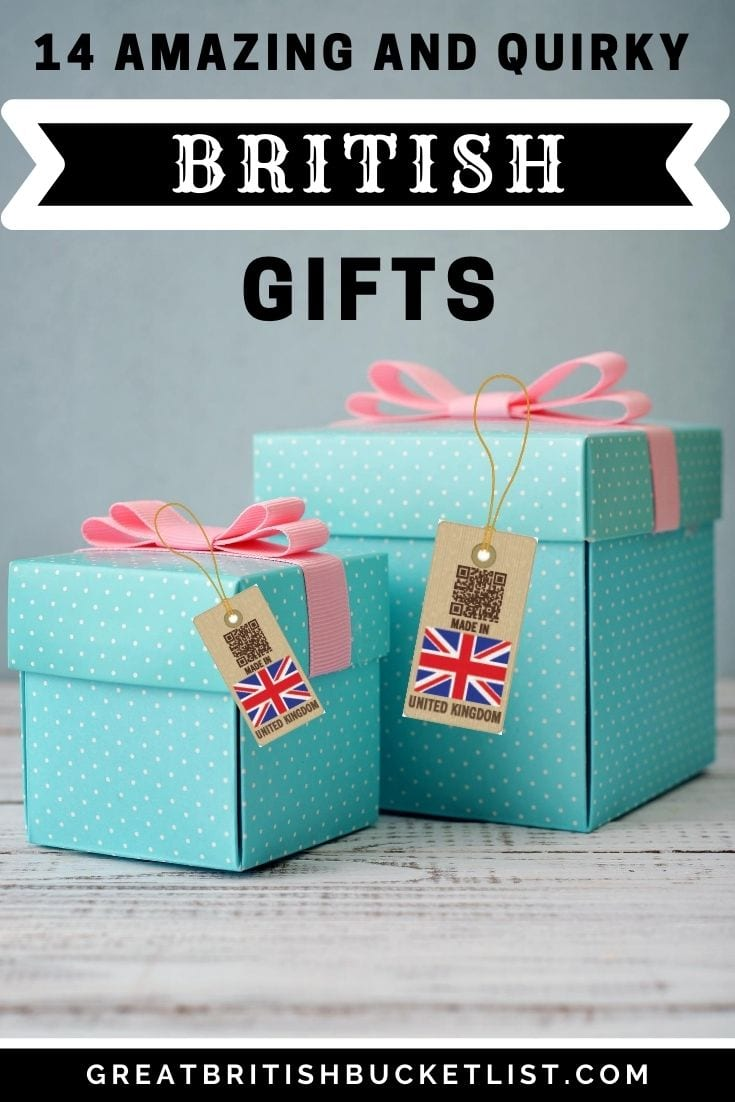 British gifts made in England
