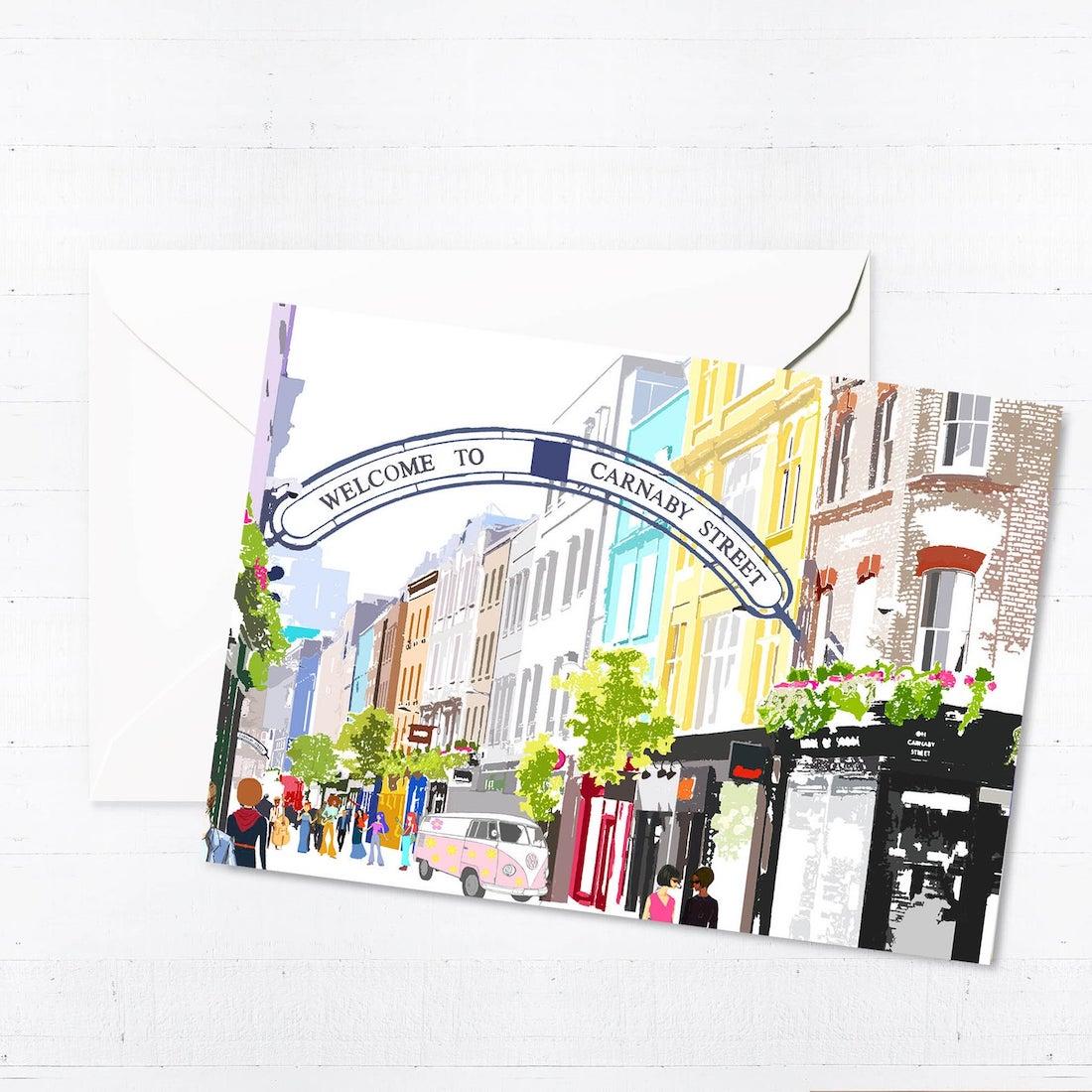 Carnaby Street card