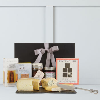 English cheese gift box
