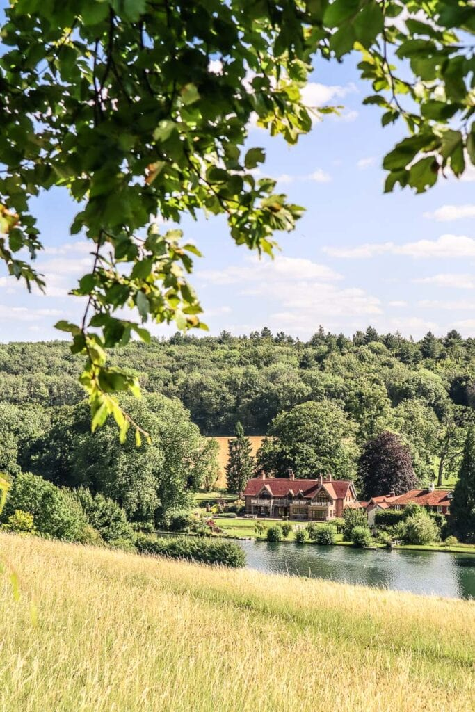 Spectacular views on the Chess Valley Walk