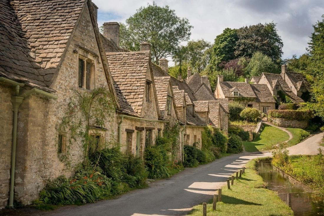 Arlington Row, Bibury in the Cotswolds