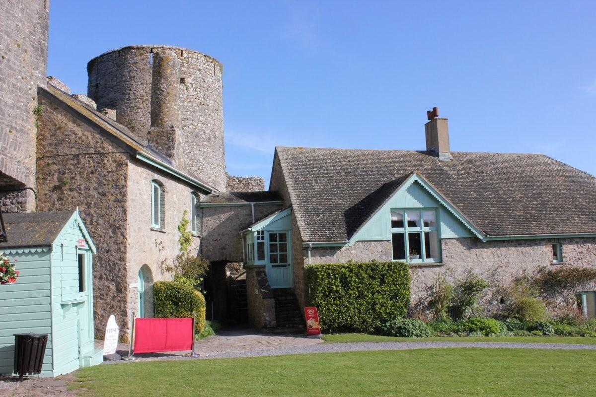 Manorbier Castle, Wales
