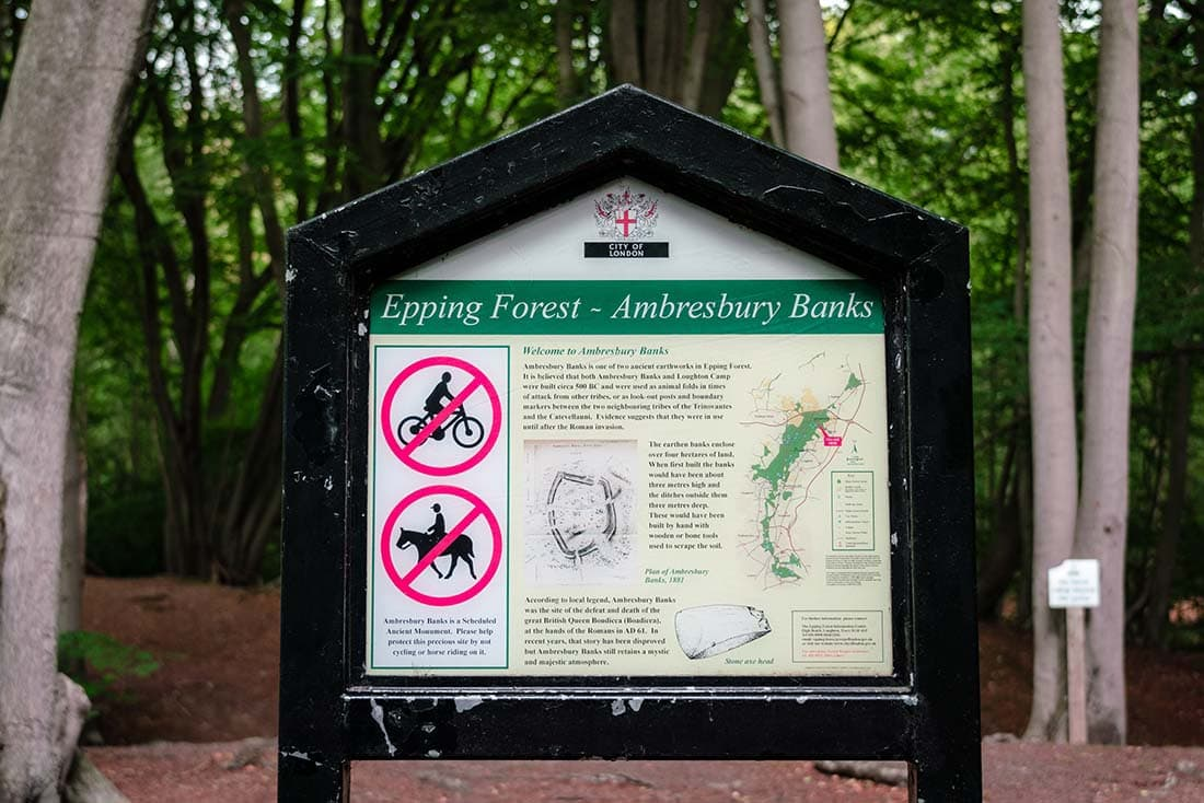 ambresbury banks epping forest