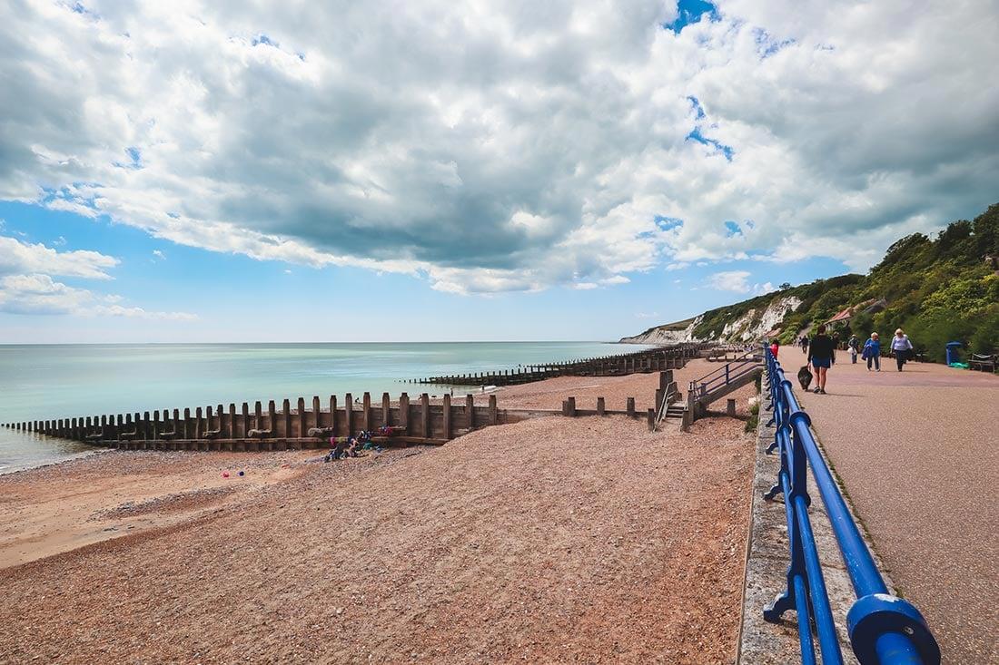 eastbourne beach walk