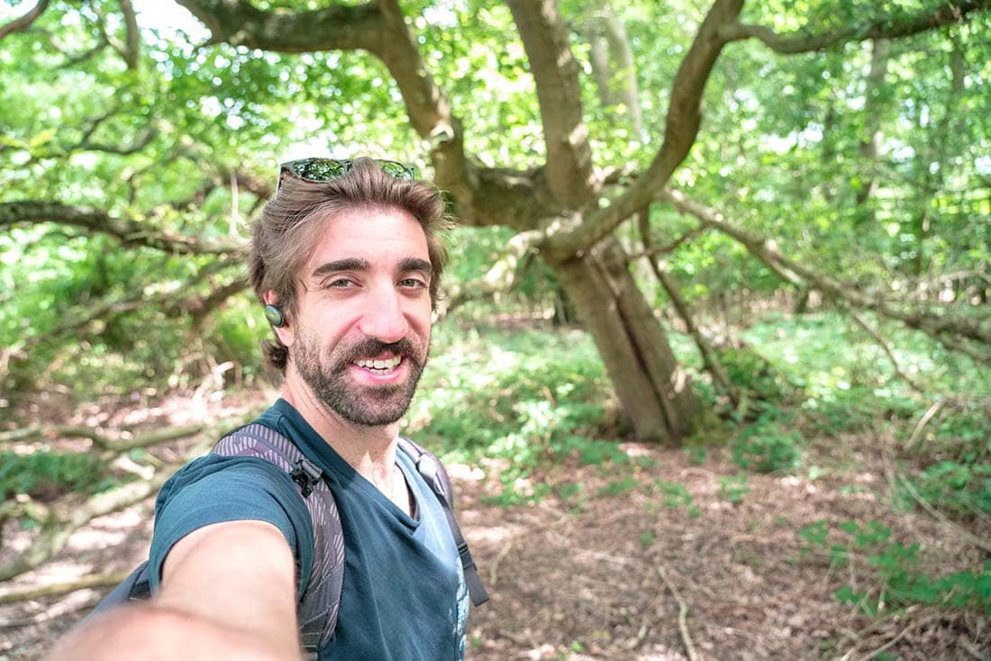 walking in epping forest