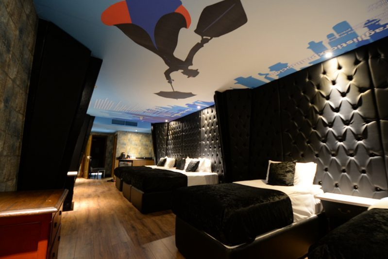 Mary Poppins room at the Arthouse Hotel Liverpool