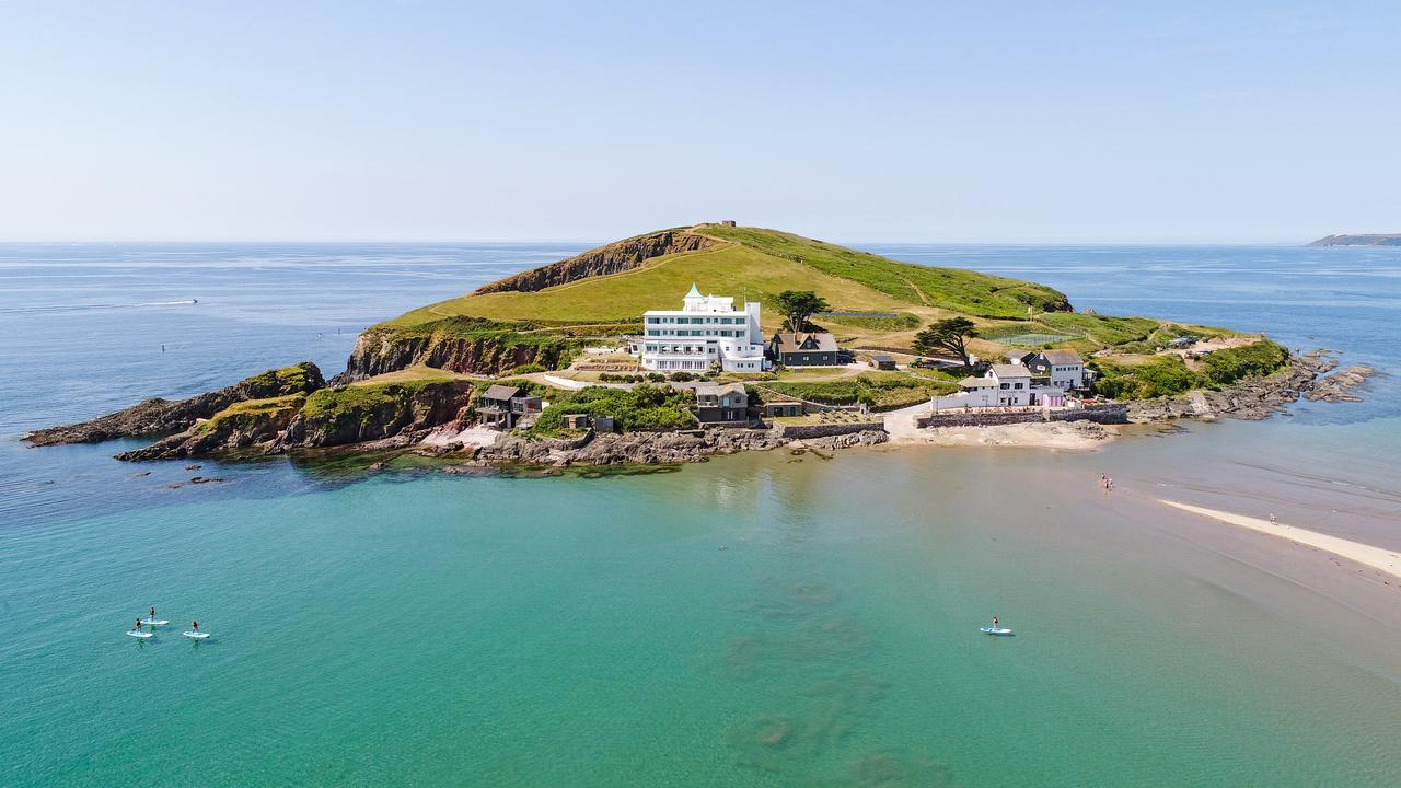 Burgh Island Hotel in Devon