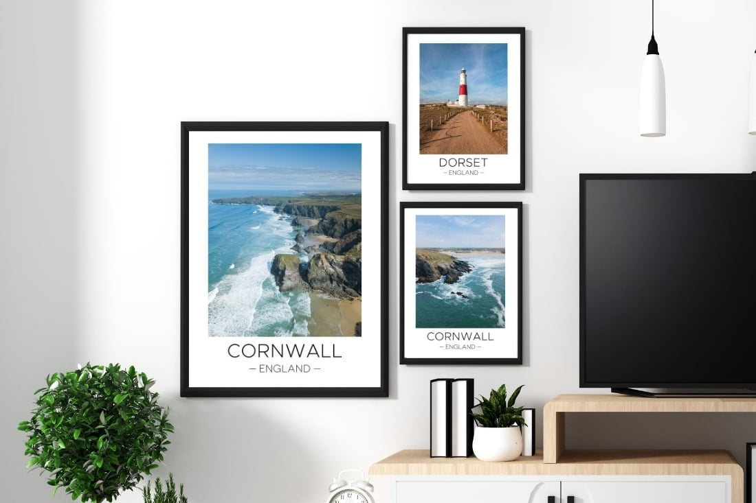Great Britain prints on the Travel Print Store