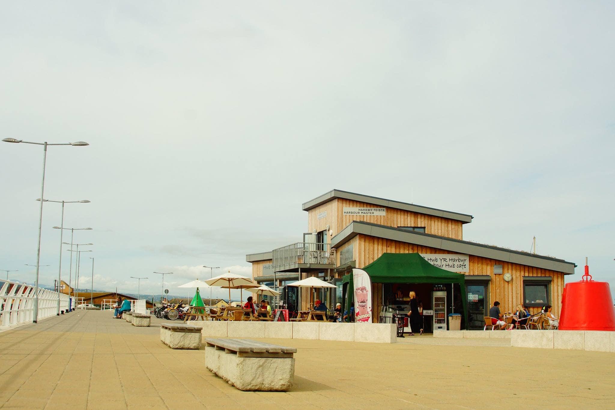 Harbour Hub Cafe, Rhyl