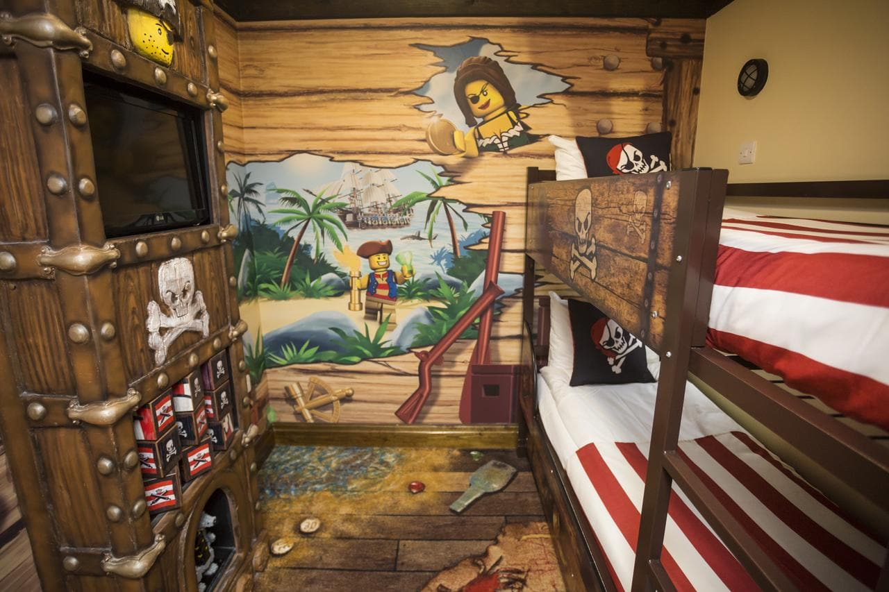 Pirate hotel room at Legoland Resort Hotel Windsor