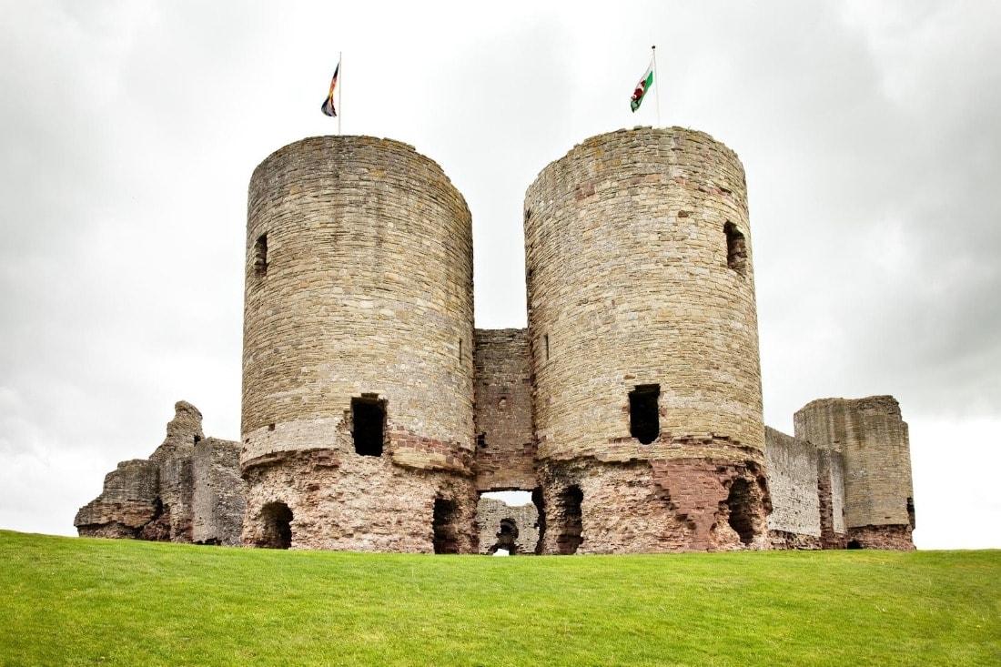 Rhuddlan Castle, near Rhyl