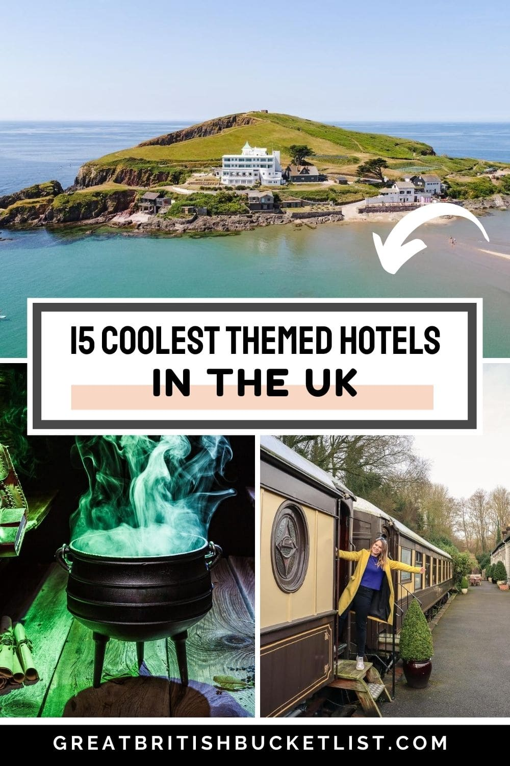 Coolest themed hotels in the UK
