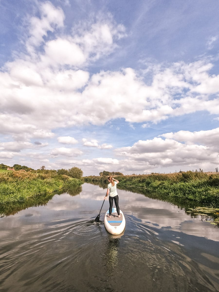 paddleboarding east sussex