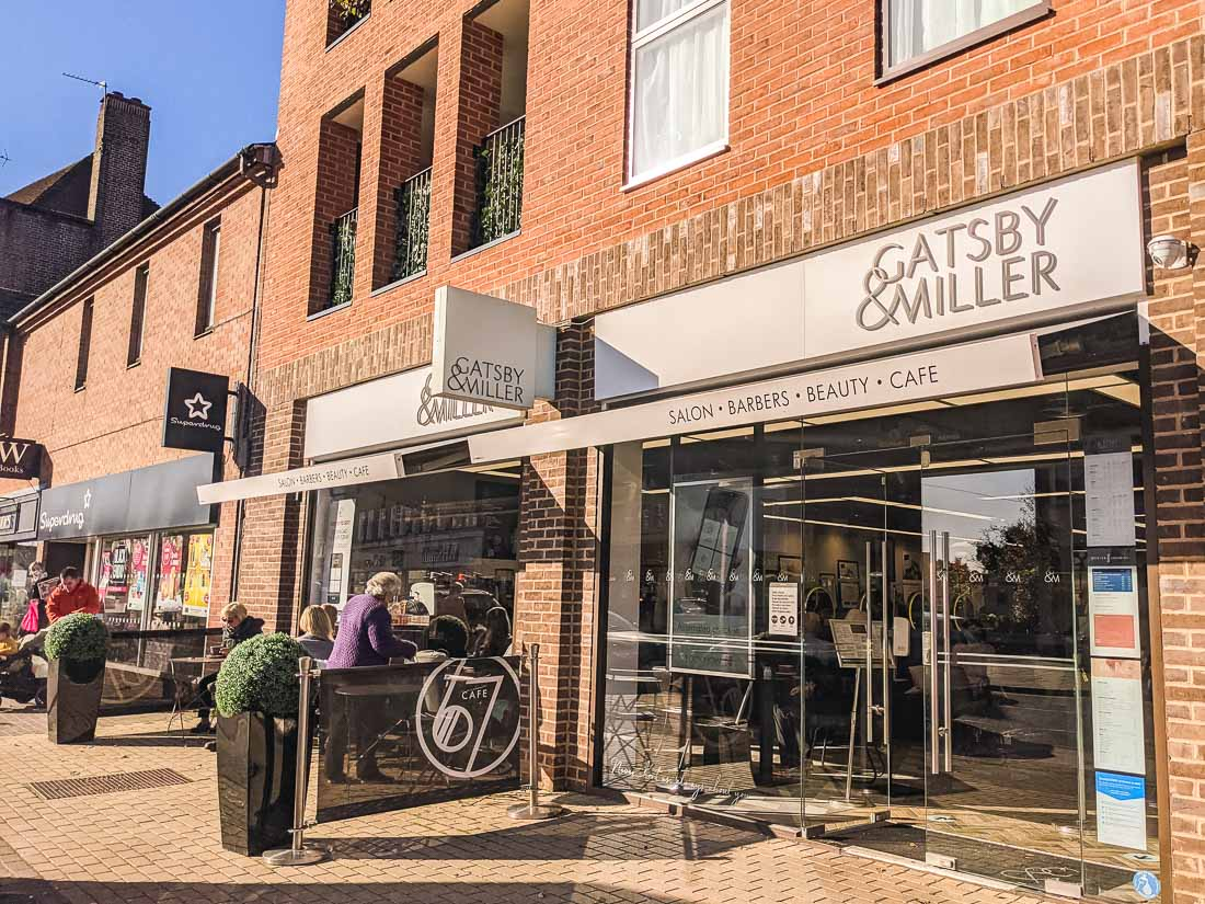 Cafe 67 in Gatsby and Miller, Amersham