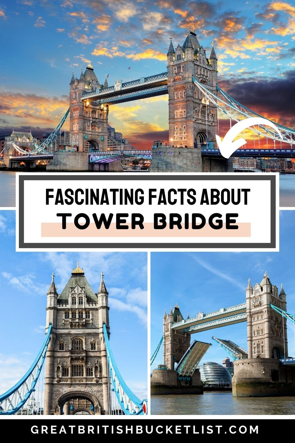 Facts about Tower Bridge London