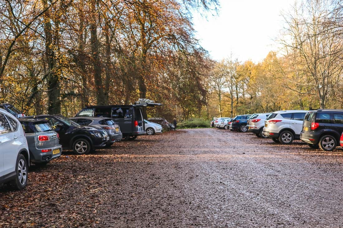 Whiteleaf Car park, Buckinghamshire