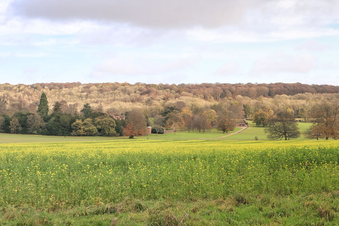 Views of Chequers, Buckinghamshire