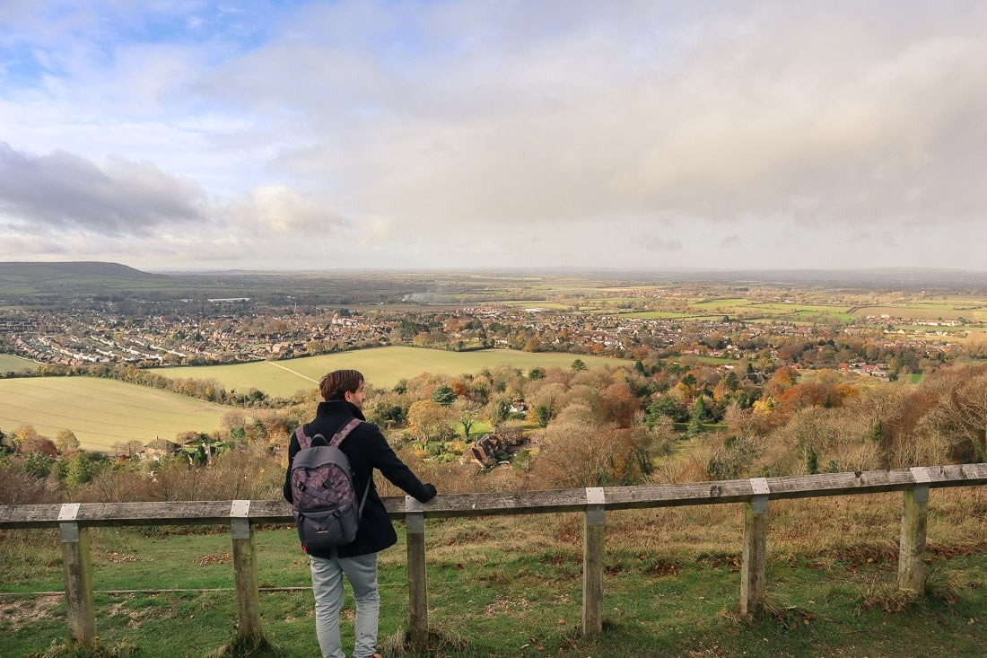 Incredible views from Whiteleaf Hill, Buckinghamshire