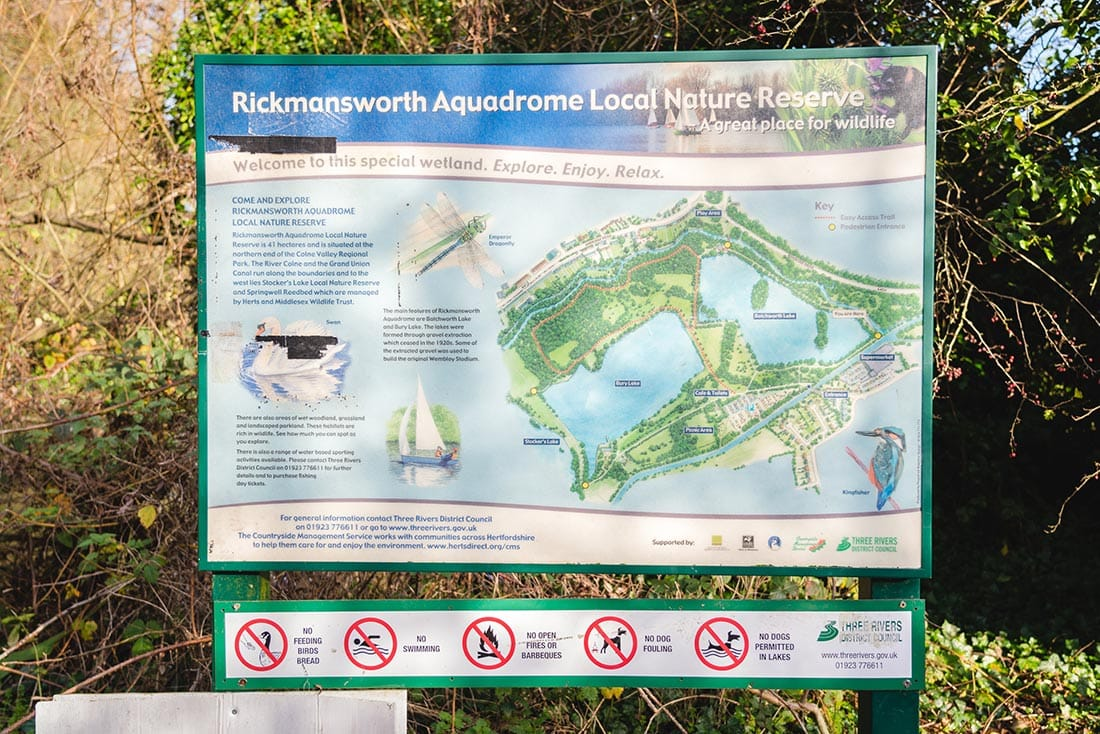 rickmansworth aquadrome map