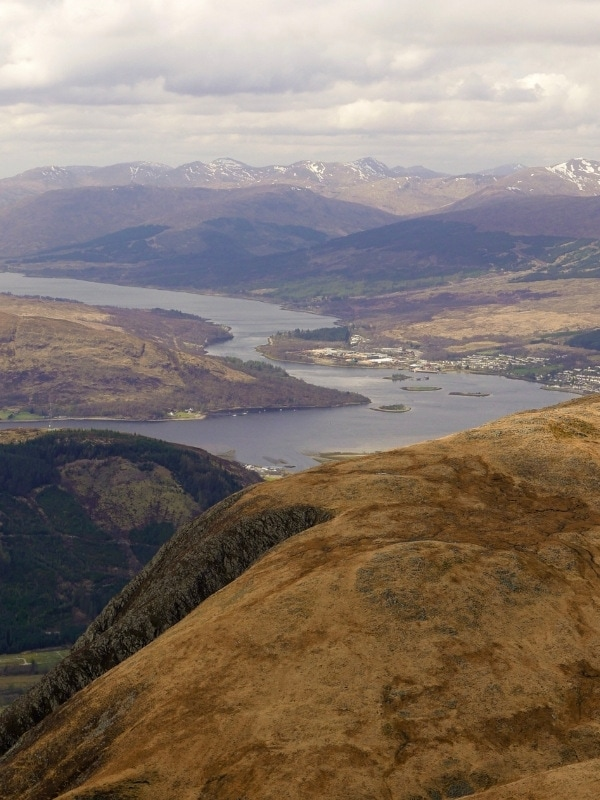 Epic views from the summit of Ben Nevis