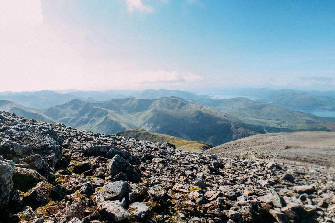 Views from Ben Nevis