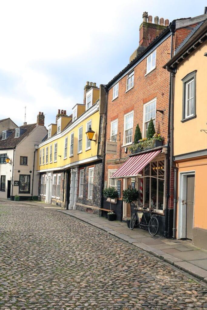 Elm Hill in Norwich