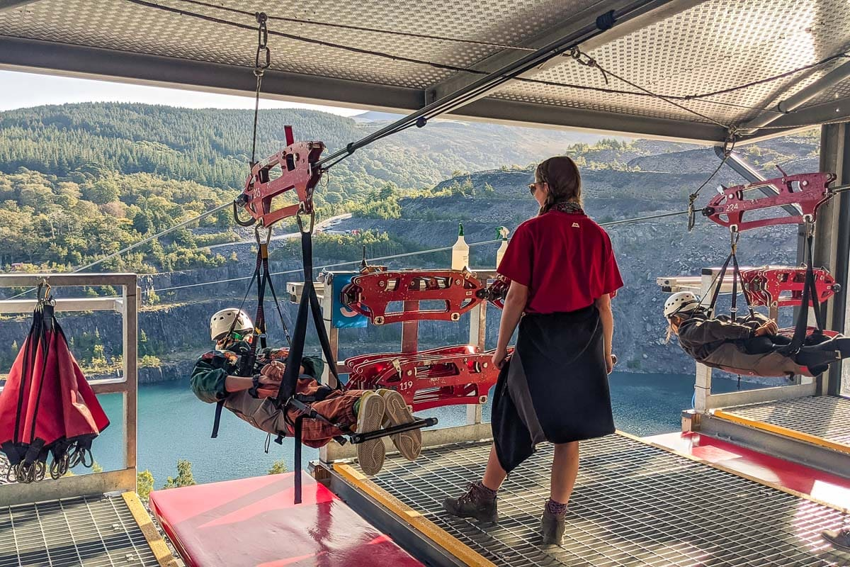ZipWorld, North Wales