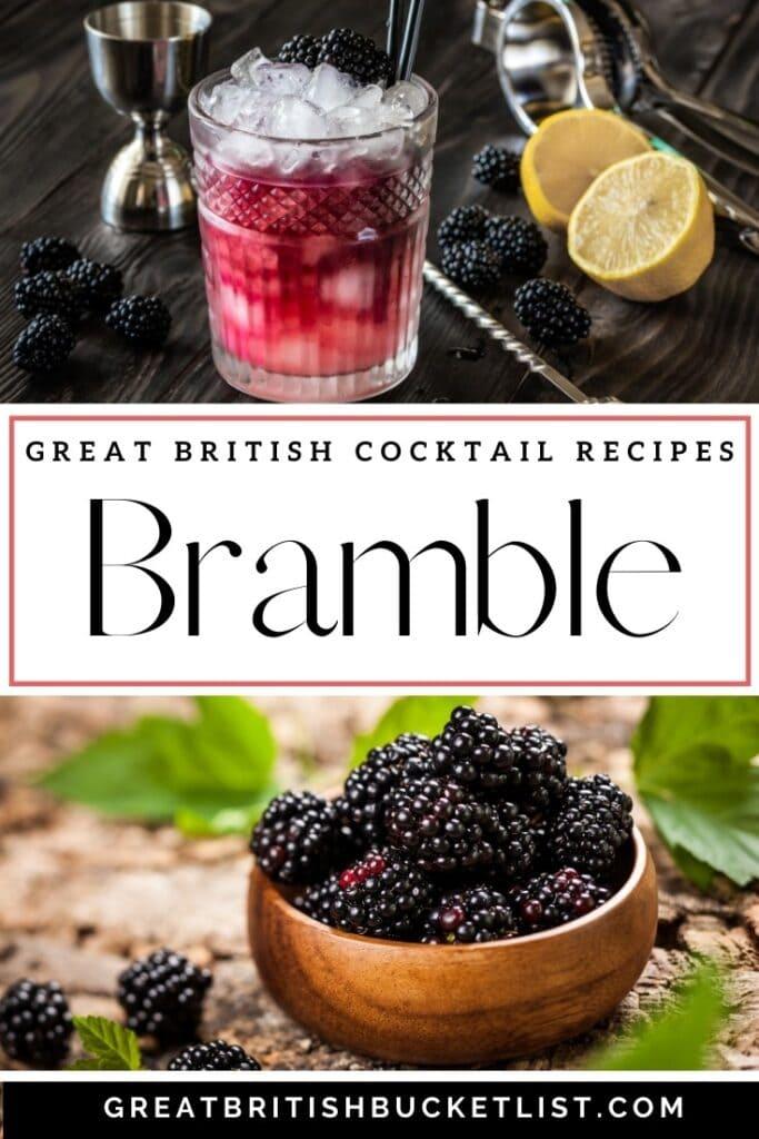 Bramble Cocktail recipe