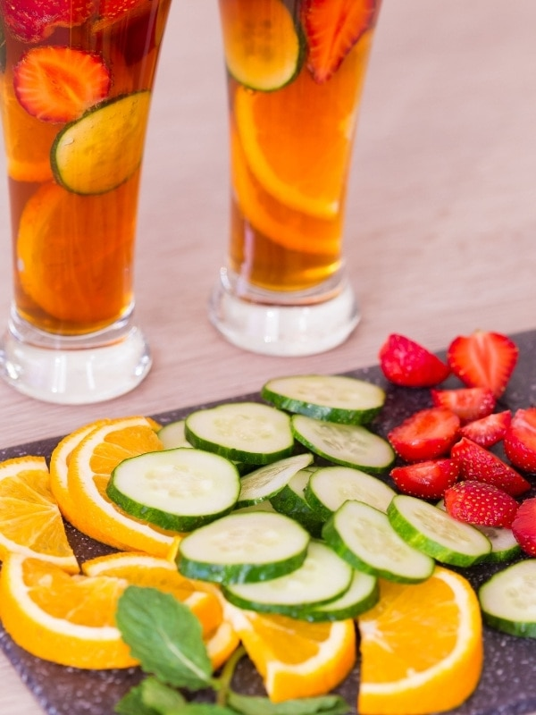 Fruit for the Pimm's No. 1 Cup