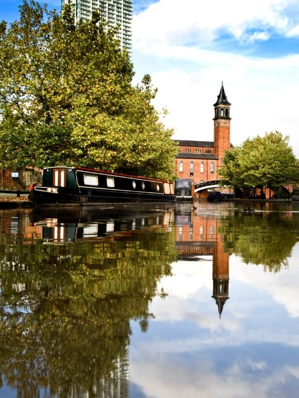 Canals in Manchester