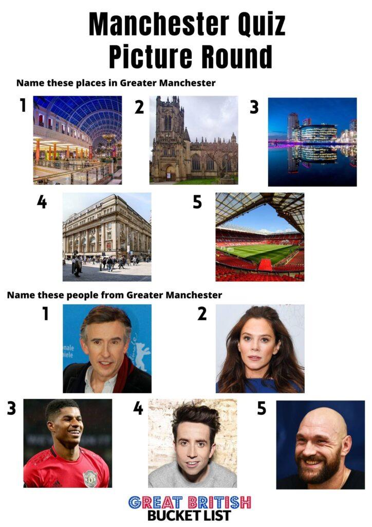 Manchester Picture Quiz
