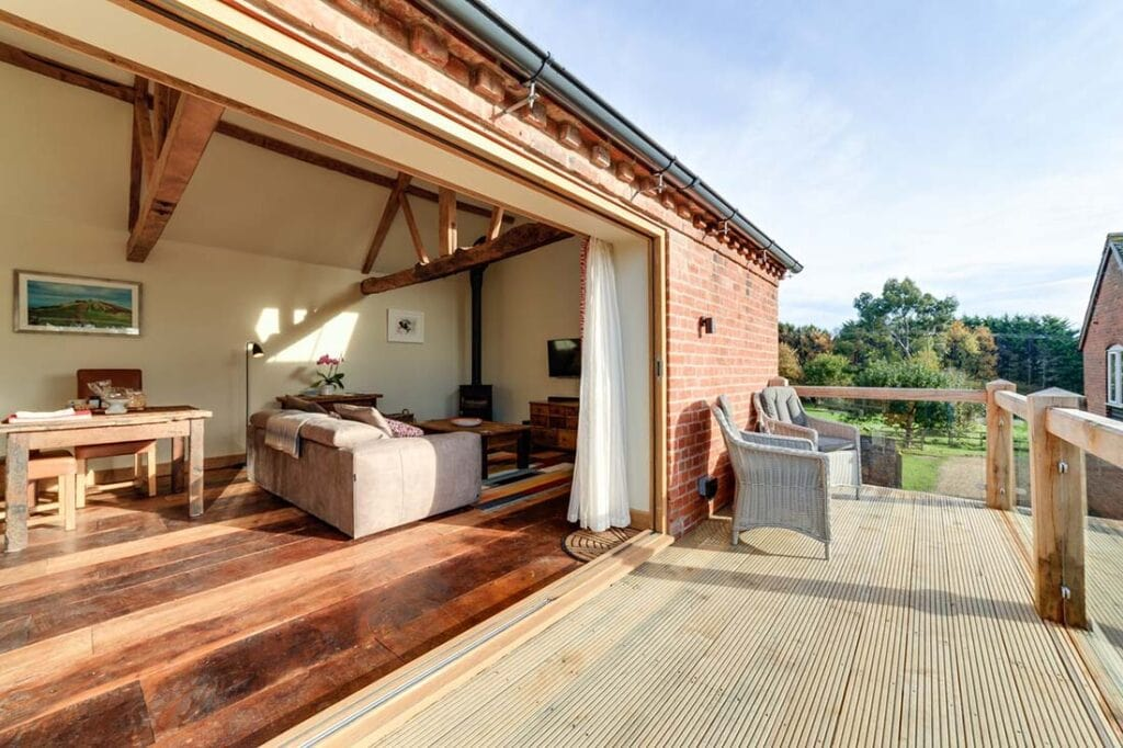 best airbnbs herefordshire