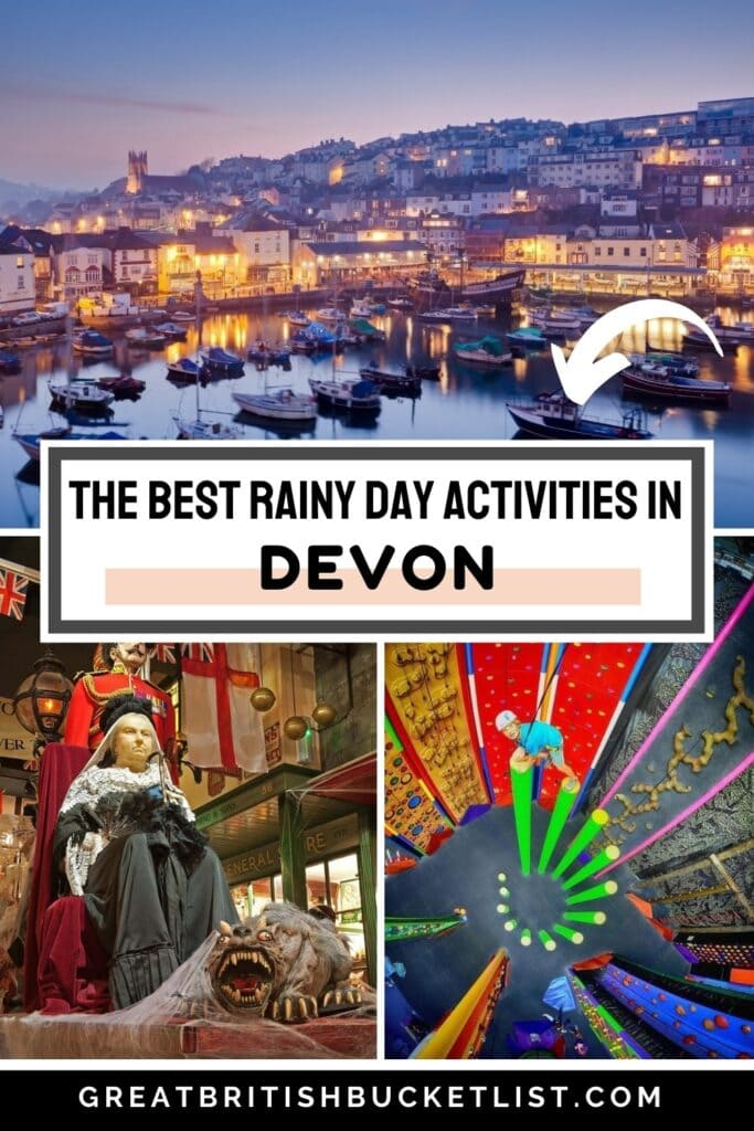 The Best Things to do in Devon in the Rain
