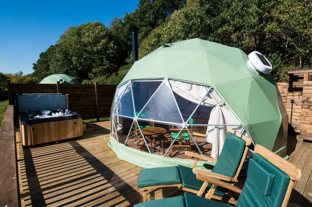 glamping herefordshire
