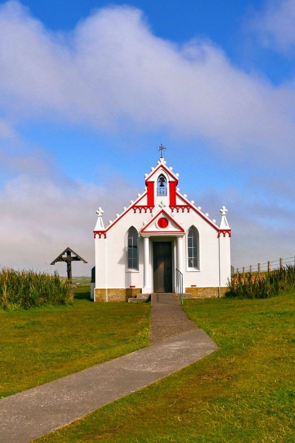 Italian chapel on the Orkney Isles
