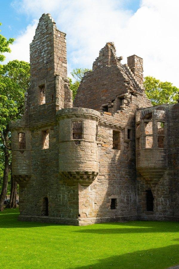 Ruins in Kirkness, Orkney