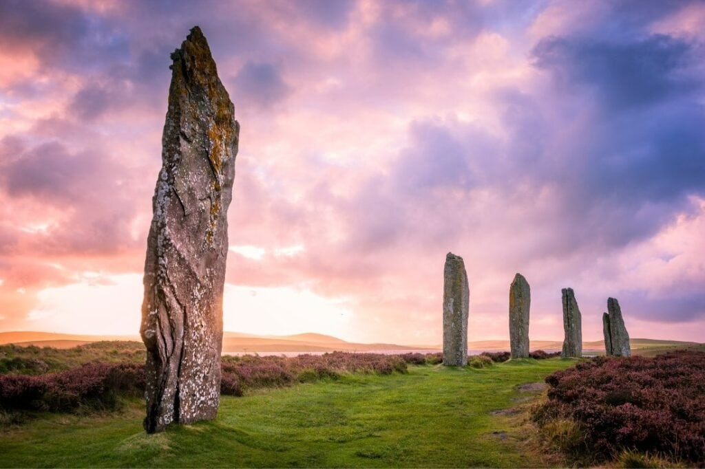 Ring of Brodgar, Ornkey