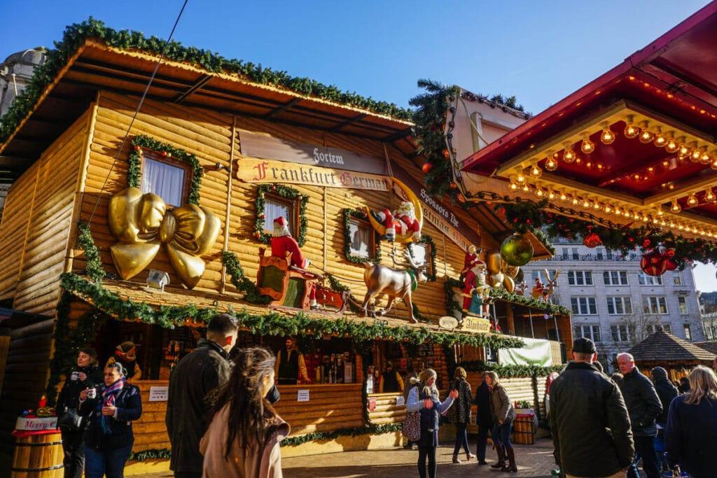 German Christmas Market in Birmingham