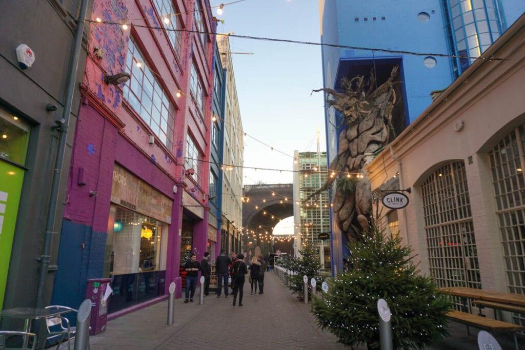 Cool streets in Digbeth, Birmingham