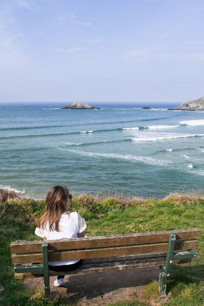 Beautiful views on a Cornwall road trip