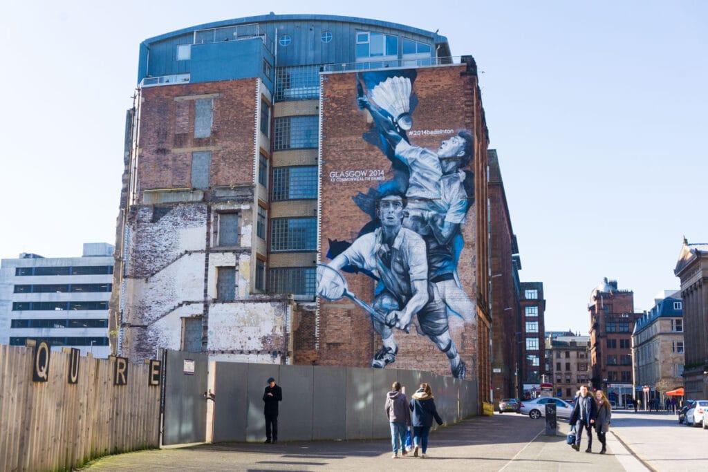 Murals in Glasgow