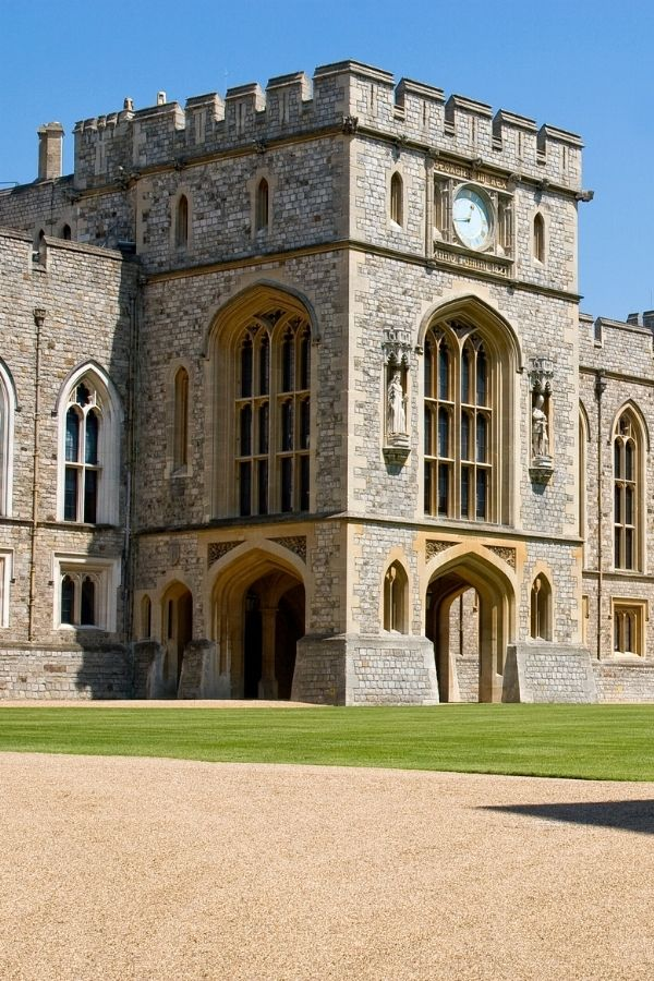 internal areas at windsor castle