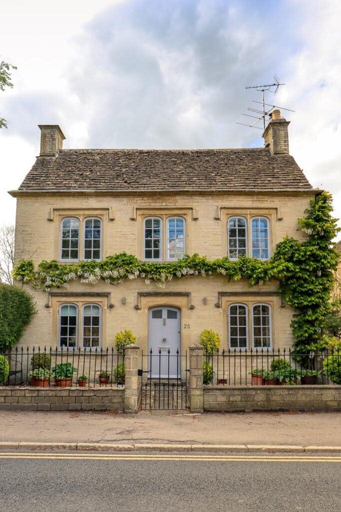 Pretty houses in Tetbury