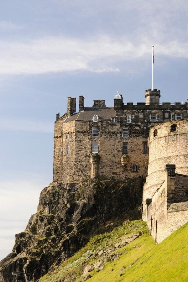 edinburgh castle facts