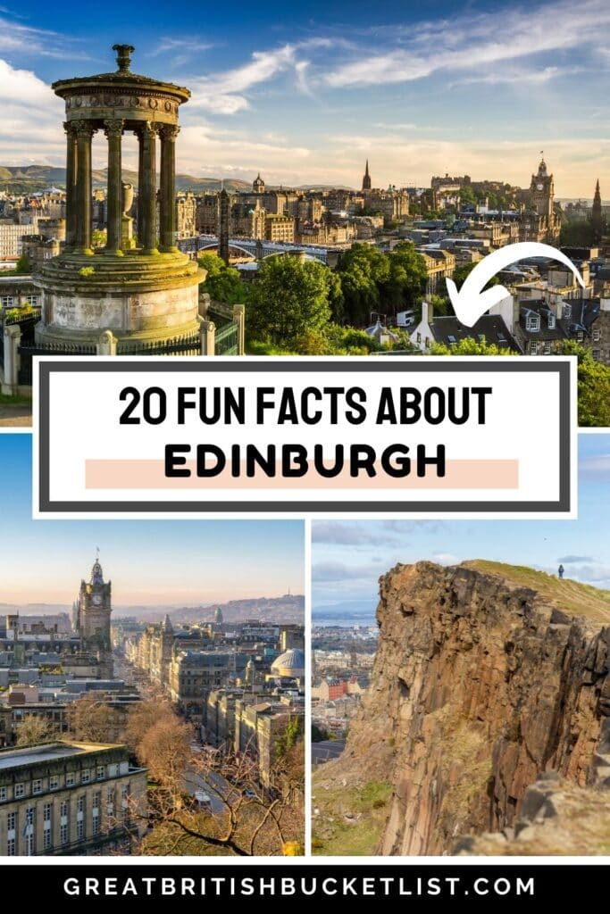 20 Fun Facts About Edinburgh That Will Surprise You