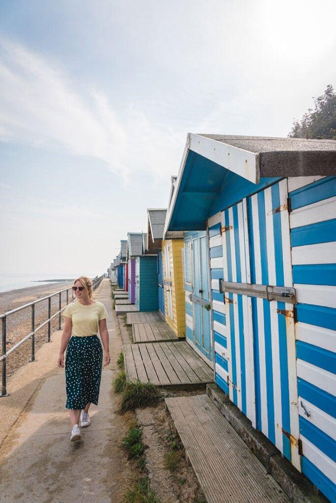 beach huts cromer