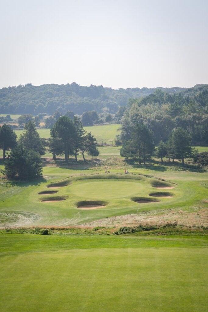 golf in cromer