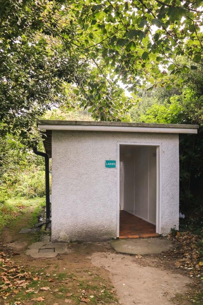 Public toilets in Herm